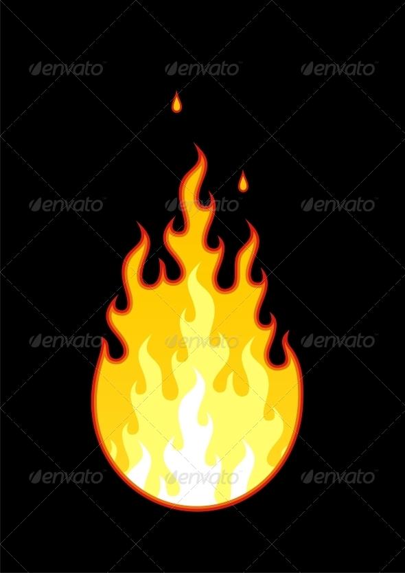 Vector Fire - Tattoos Vectors