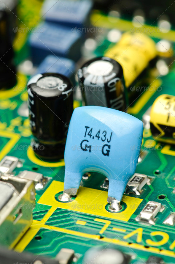 Electronic Board - Stock Photo - Images
