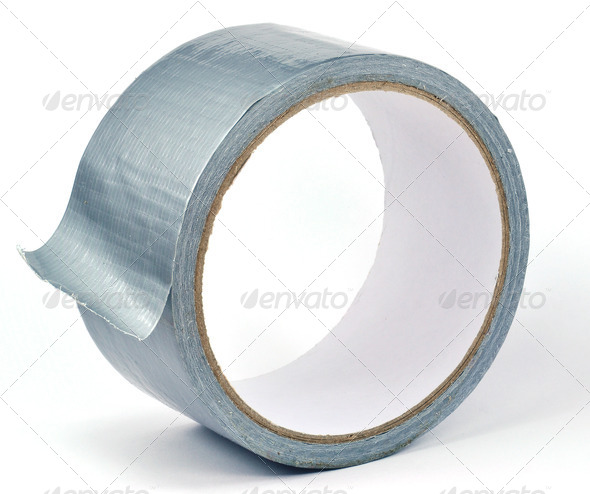 A Roll of Duct Tape - Stock Photo - Images