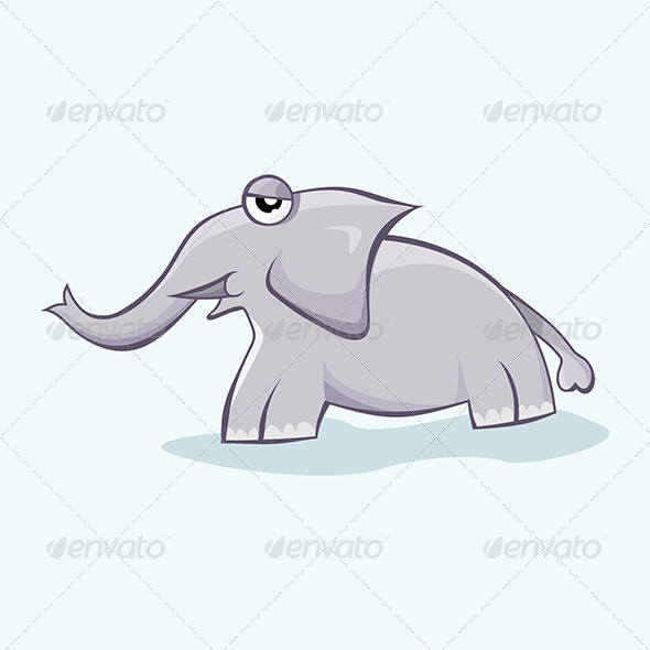 Baby Elephant - Animals Characters