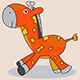 Comic Giraffe - GraphicRiver Item for Sale
