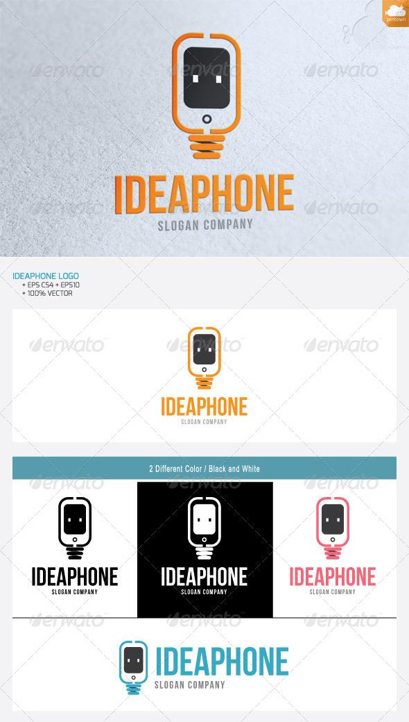 Idea phone - Objects Logo Templates