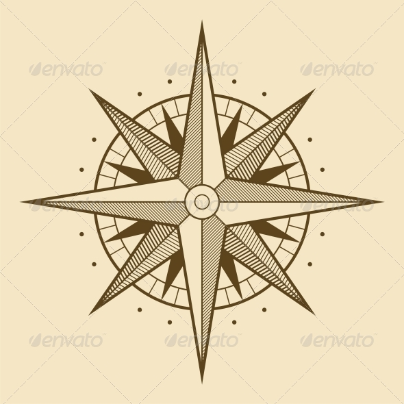 Wind Rose - Travel Conceptual