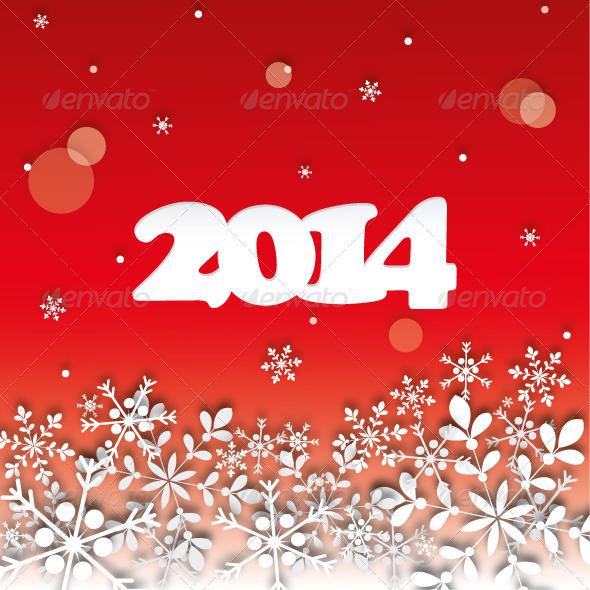 2014 Happy New Year - New Year Seasons/Holidays