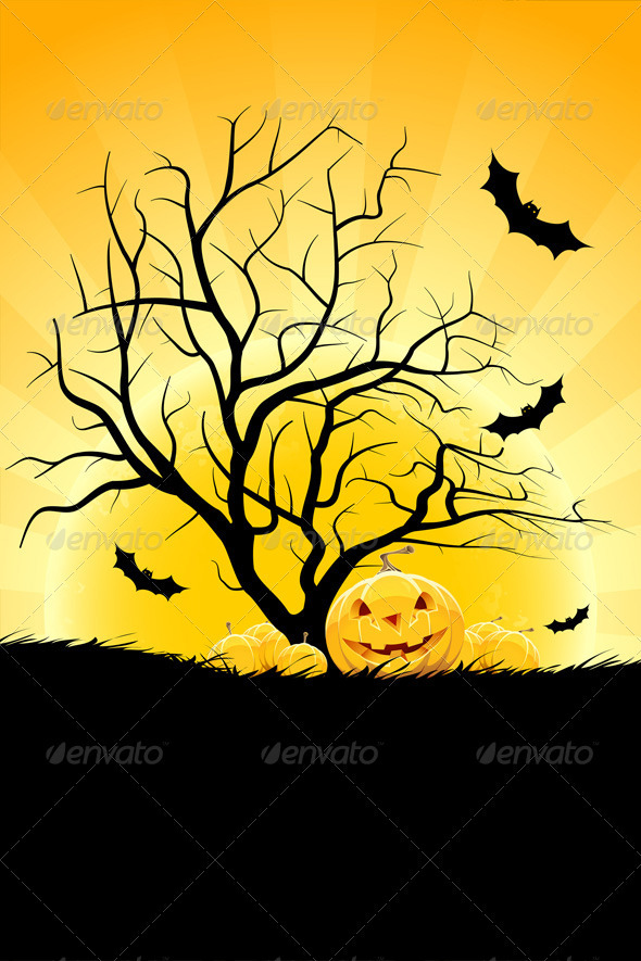 Halloween Backgroun - Halloween Seasons/Holidays