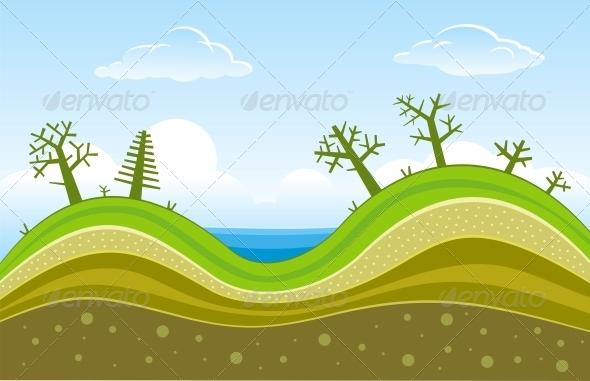Green Hills - Landscapes Nature
