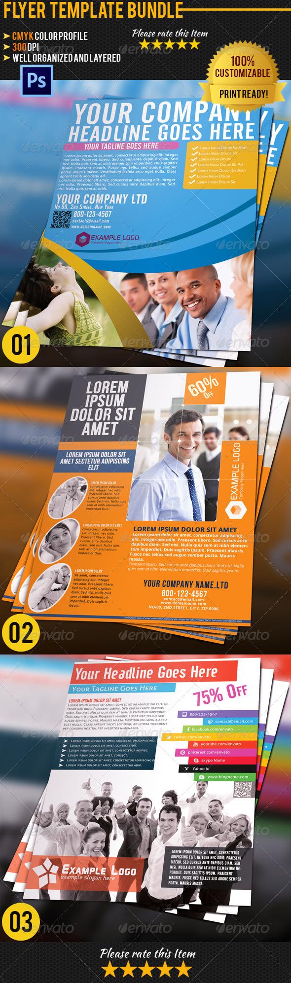 Corporate Business Flyer Bundle 03 - Corporate Flyers