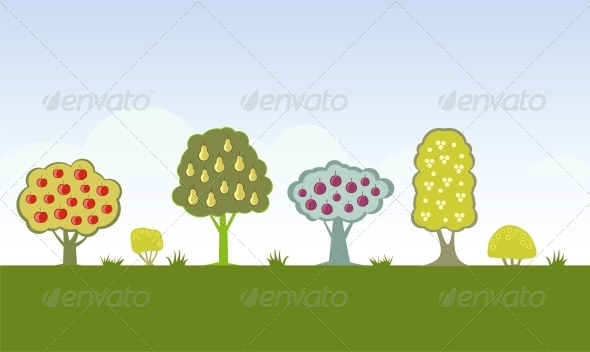 Fruit Trees - Seasons Nature