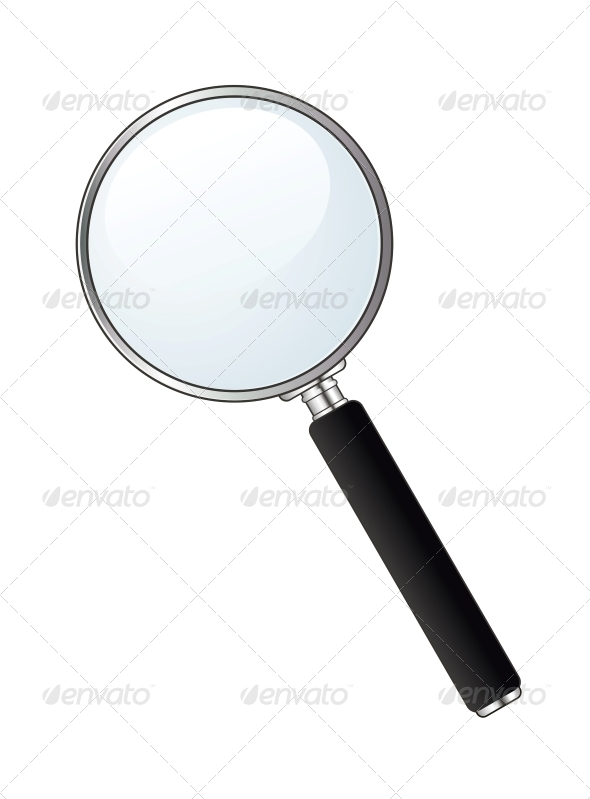 Magnifying Glass - Computers Technology