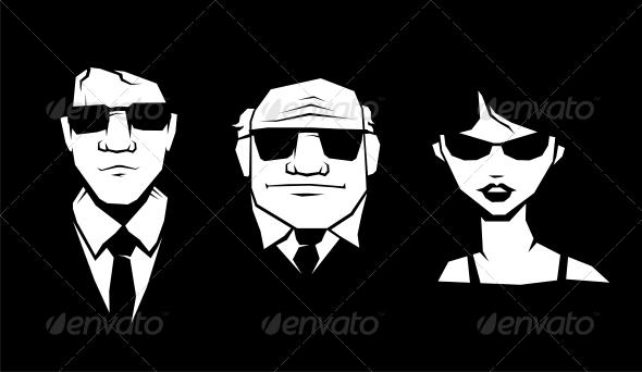 Mafia Peoples - People Characters