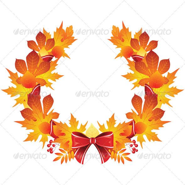 Autumn Wreath - Seasons/Holidays Conceptual