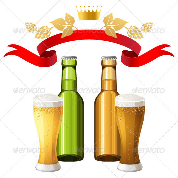 Beer - Miscellaneous Vectors