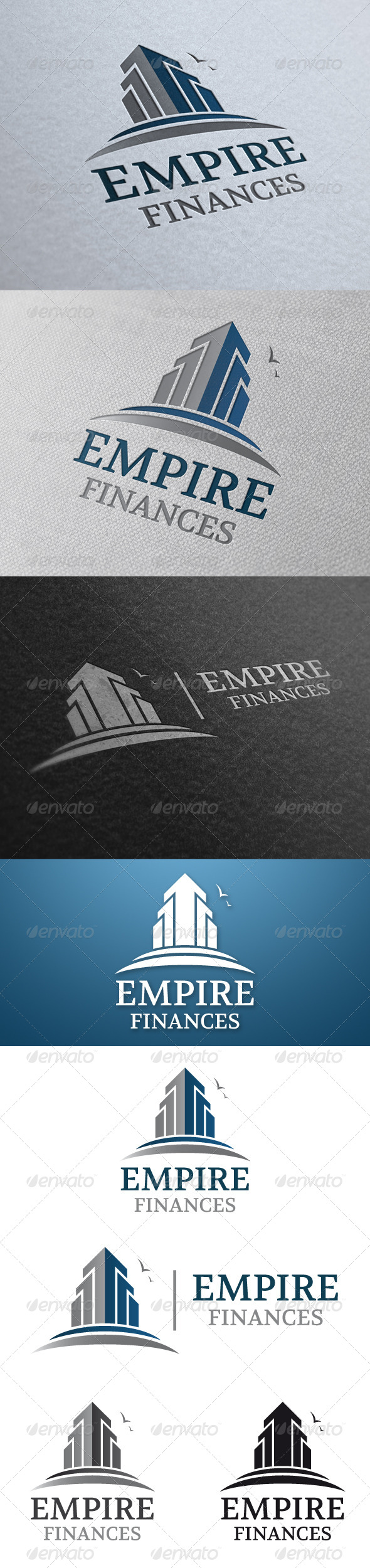 Empire Real Estate Logo Template - Buildings Logo Templates