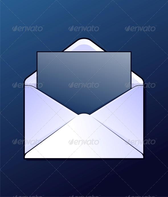 Mail Envelope  - Web Technology