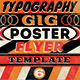 Vintage Typography Gig Poster/Flyer No 6 - GraphicRiver Item for Sale