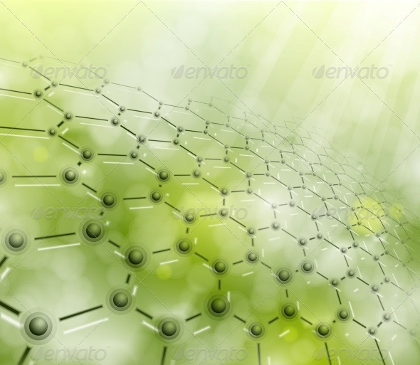 Molecular Background - Health/Medicine Conceptual