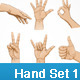 Hand Symbol Set - GraphicRiver Item for Sale