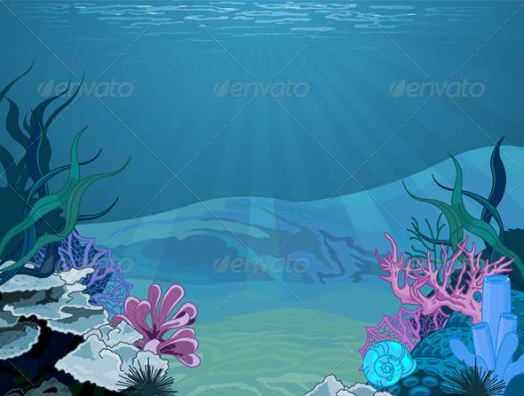 Underwater powerpoint background targergolden dragon underwater powerpoint background toneelgroepblik Images