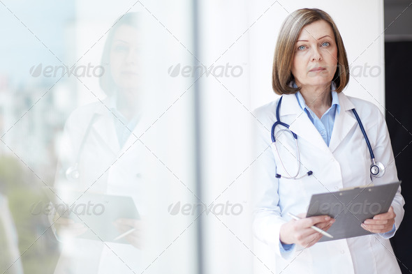 Female practitioner - Stock Photo - Images