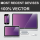 Most Recent Devices in Vector - GraphicRiver Item for Sale
