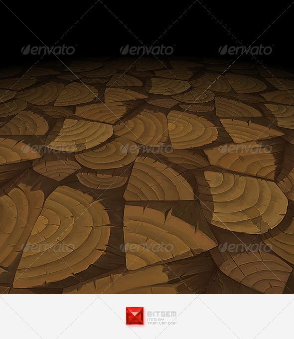 Wood Texture Tile 04 - 3DOcean Item for Sale