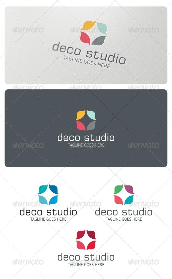 Deco Studio Logo Template - Abstract Logo Templates
