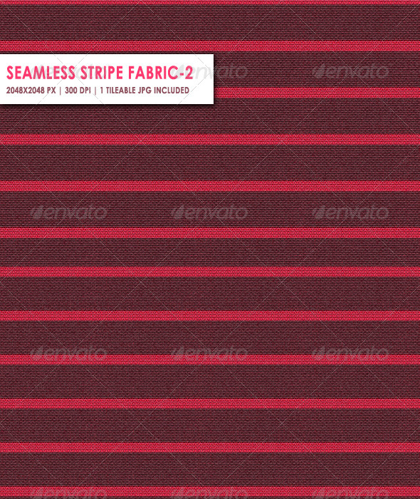 Seamless Stripe Fabric Two - 3DOcean Item for Sale