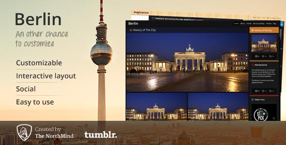 Berlin Tumblr Theme