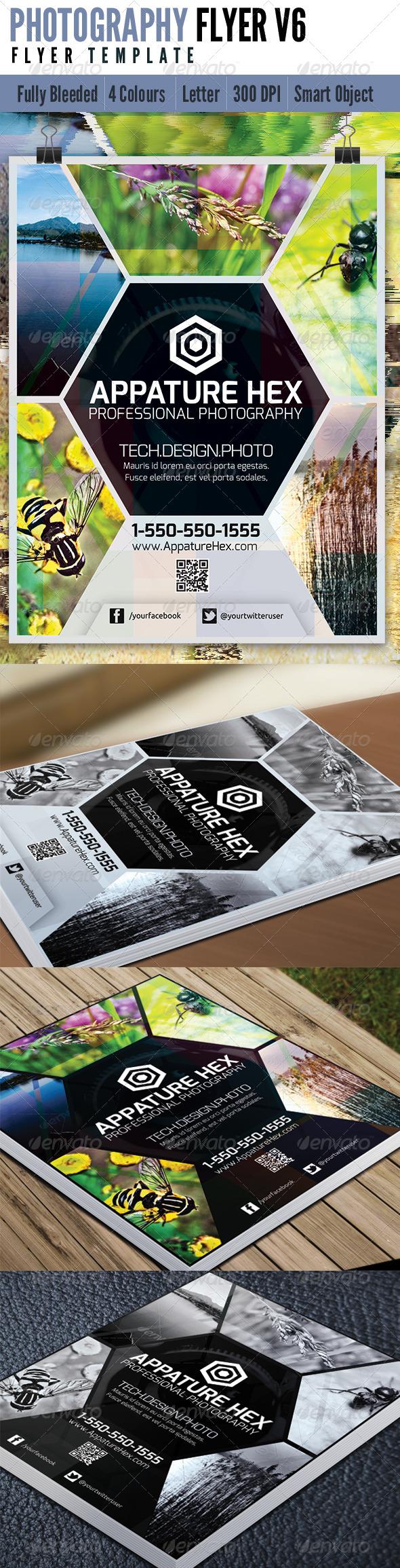 Photography Flyer V6 - Flyers Print Templates