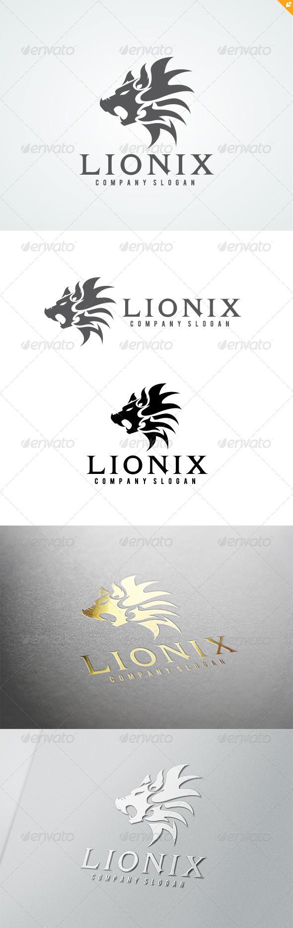 Lionix Logo - Crests Logo Templates
