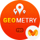 GeoMetry - design for geolocation social networkr Nulled