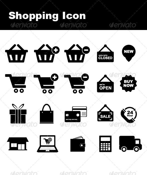 Shopping Icon - Icons