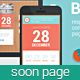 Blocks - Responsive Coming Soon page Nulled
