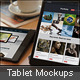 Realistic Tablet Mockups - Black Mini - GraphicRiver Item for Sale