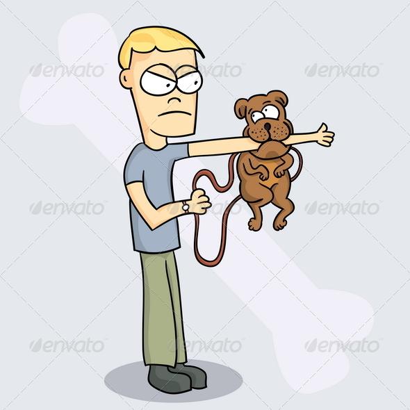 Bad Dog - People Characters