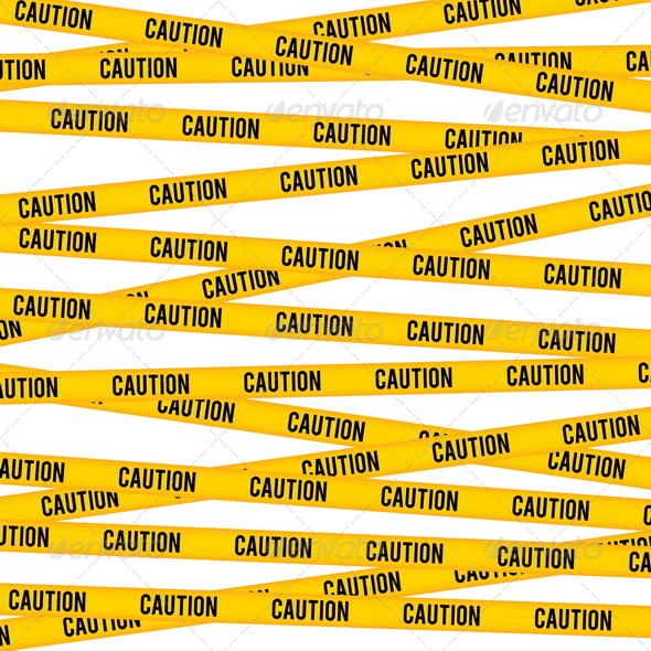 Caution Line - Patterns Decorative