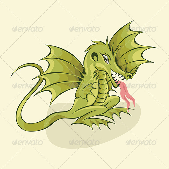 Chinese Dragon - Monsters Characters