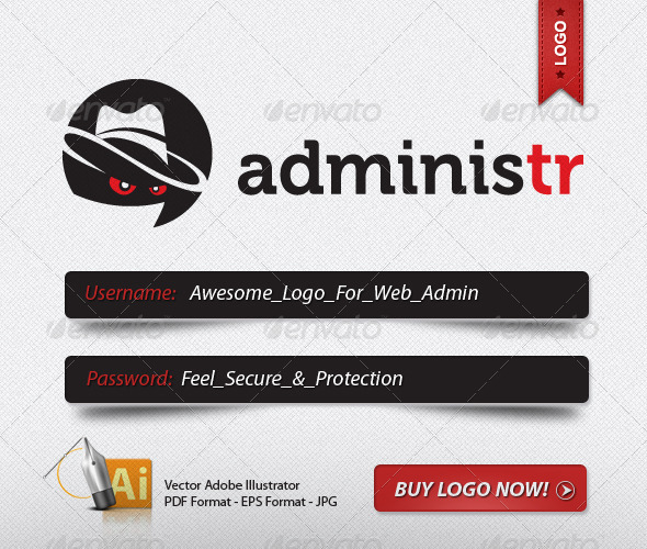 SECURE ADMIN LOGO - Humans Logo Templates
