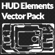 HUD Interface Vectors Pack - GraphicRiver Item for Sale