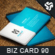 Business Card Design 90 - GraphicRiver Item for Sale