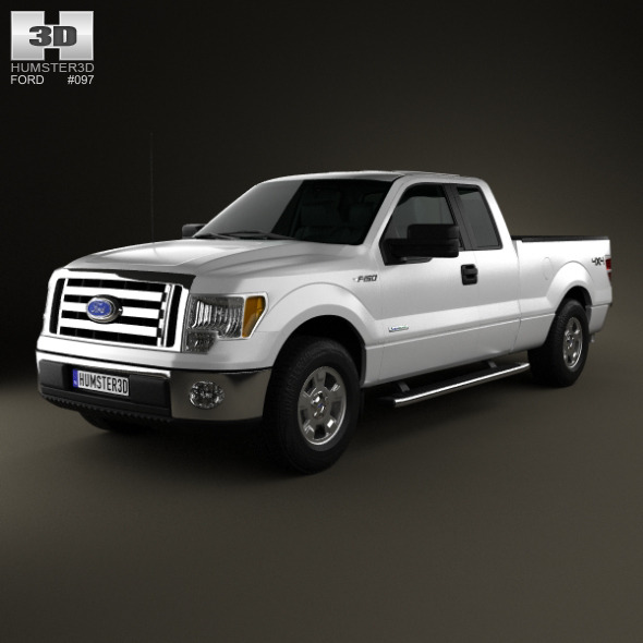 Ford F-150 Super Cab 2011 - 3DOcean Item for Sale