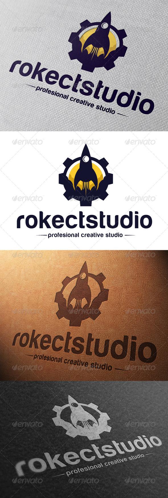 Rocket Studio Logo Template - Objects Logo Templates