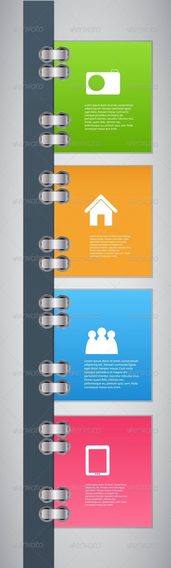 Infographic Template Design Vector Illustration - Concepts Business