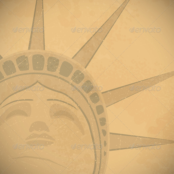 Statue of Liberty Background - Backgrounds Decorative