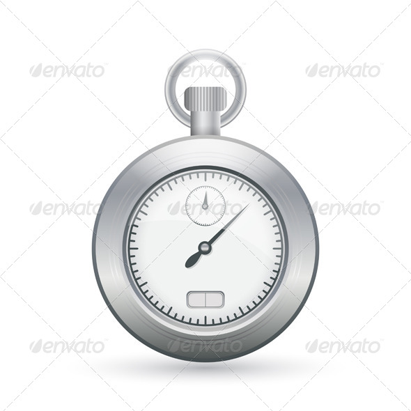 Stopwatch Icon - Man-made Objects Objects