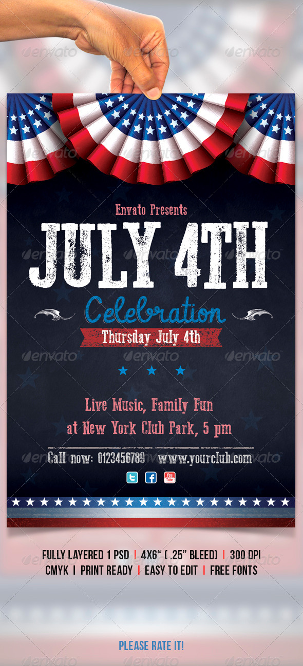 July 4th - Clubs & Parties Events