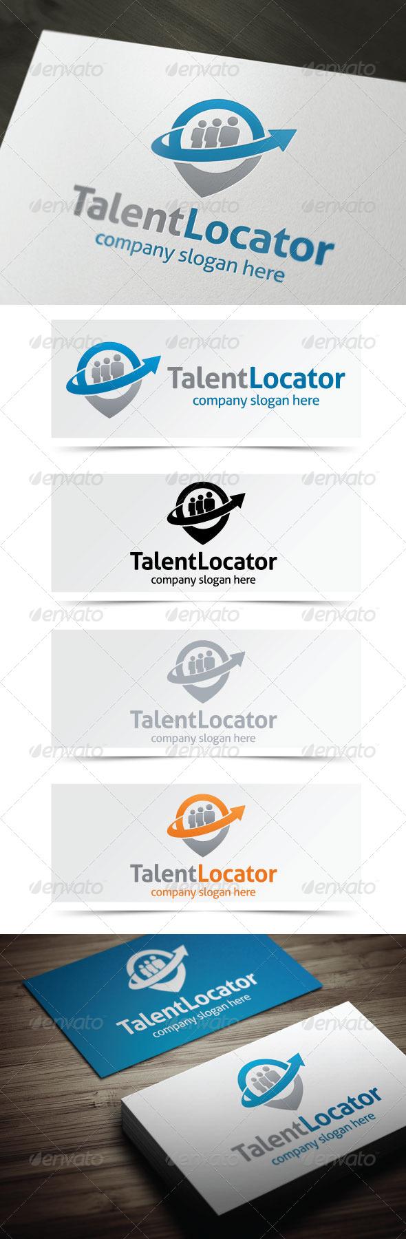 Talent Locator - Objects Logo Templates