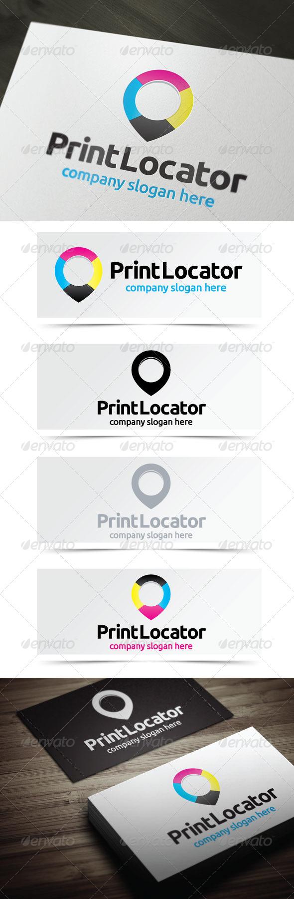 Print Locator - Symbols Logo Templates