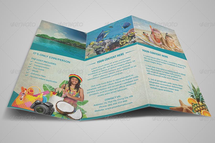 vintage travel brochure tri fold informational brochures 01_vintage_travel_brochure_tri foldjpg