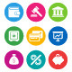 Color Finance Icons - GraphicRiver Item for Sale